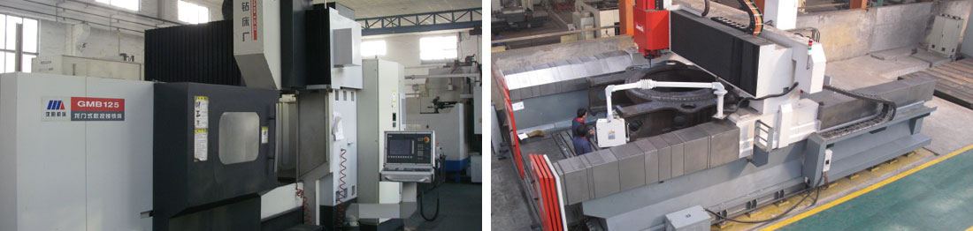 a CNC maching centre at our joint partnership China Foundry. Planer Mill at our joint partnership China Foundry.