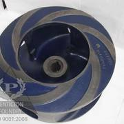 High chrome white iron fully machined blender tub impeller.