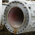 Bi metallic piping replaces CCO 28″wye and lateral piping assemblies
