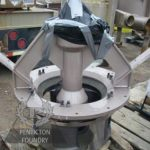 Fracking Impeller with Liner