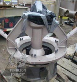Fracking Impeller with Liner