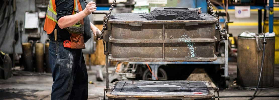 Making a mould for an original equipment manufacturer.
